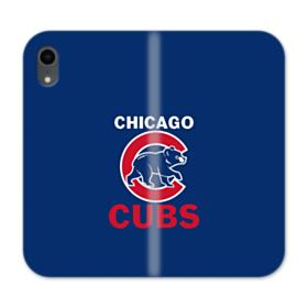 Chicago Cubs Team Logo Mascot iPhone XR Wallet Leather Case