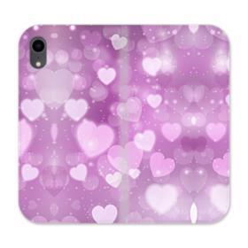 Aurora Hearts iPhone XR Wallet Leather Case