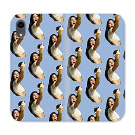 Kendall Jenner funny  iPhone XR Wallet Leather Case
