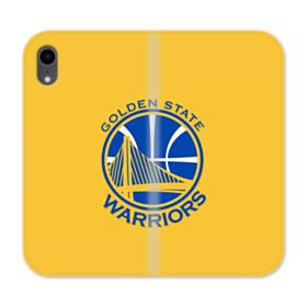 Golden State Warriors Yellow iPhone XR Wallet Leather Case