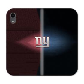 NY Giants Symbol iPhone XR Wallet Leather Case