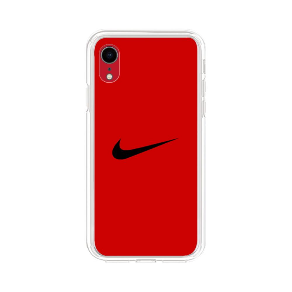 Nike Logo iPhone XR Clear Case