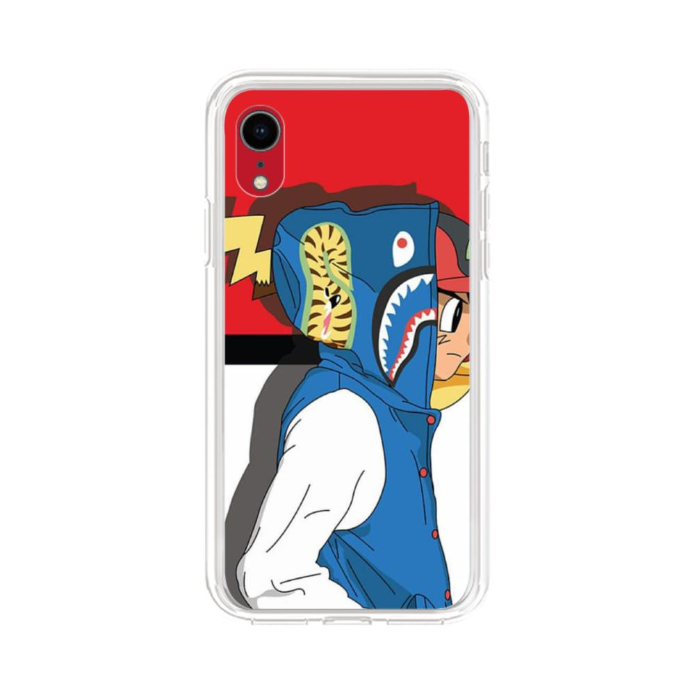 Pikachu Pokemon iPhone XR Clear Case