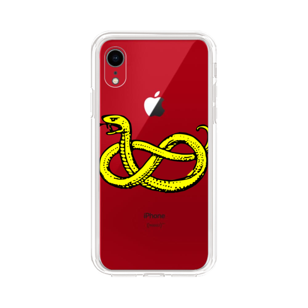 Clipart Of Snake iPhone XR Clear Case
