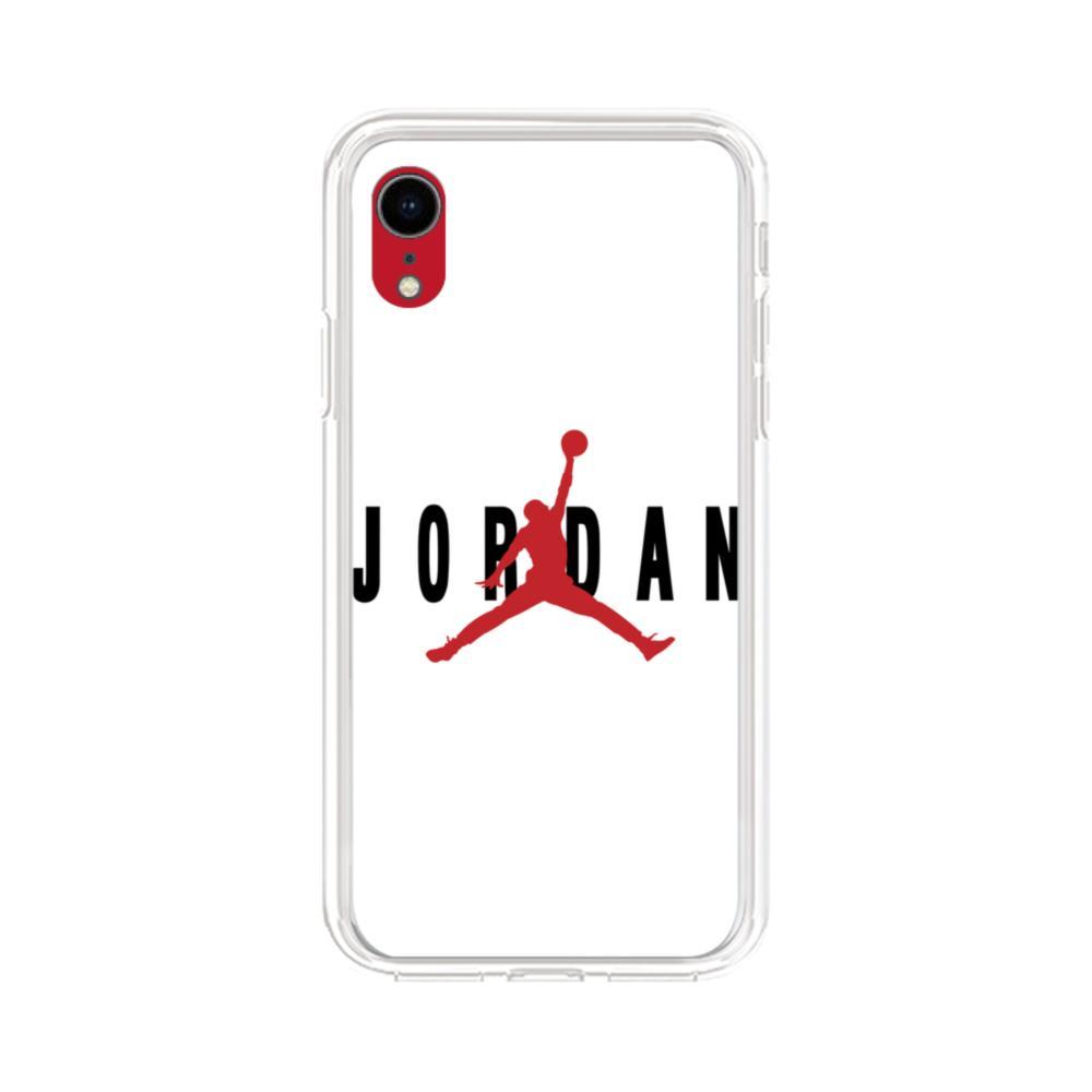 Jordan iPhone XR Clear Case   CaseFormula