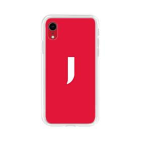Initial J Icon iPhone XR Clear Case
