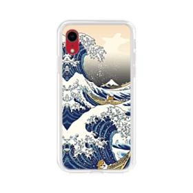 Waves iPhone XR Clear Case
