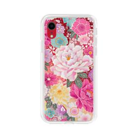 Sakura Vintage iPhone XR Clear Case