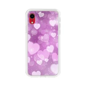 Aurora Hearts iPhone XR Clear Case