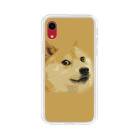 Doge meme iPhone XR Clear Case