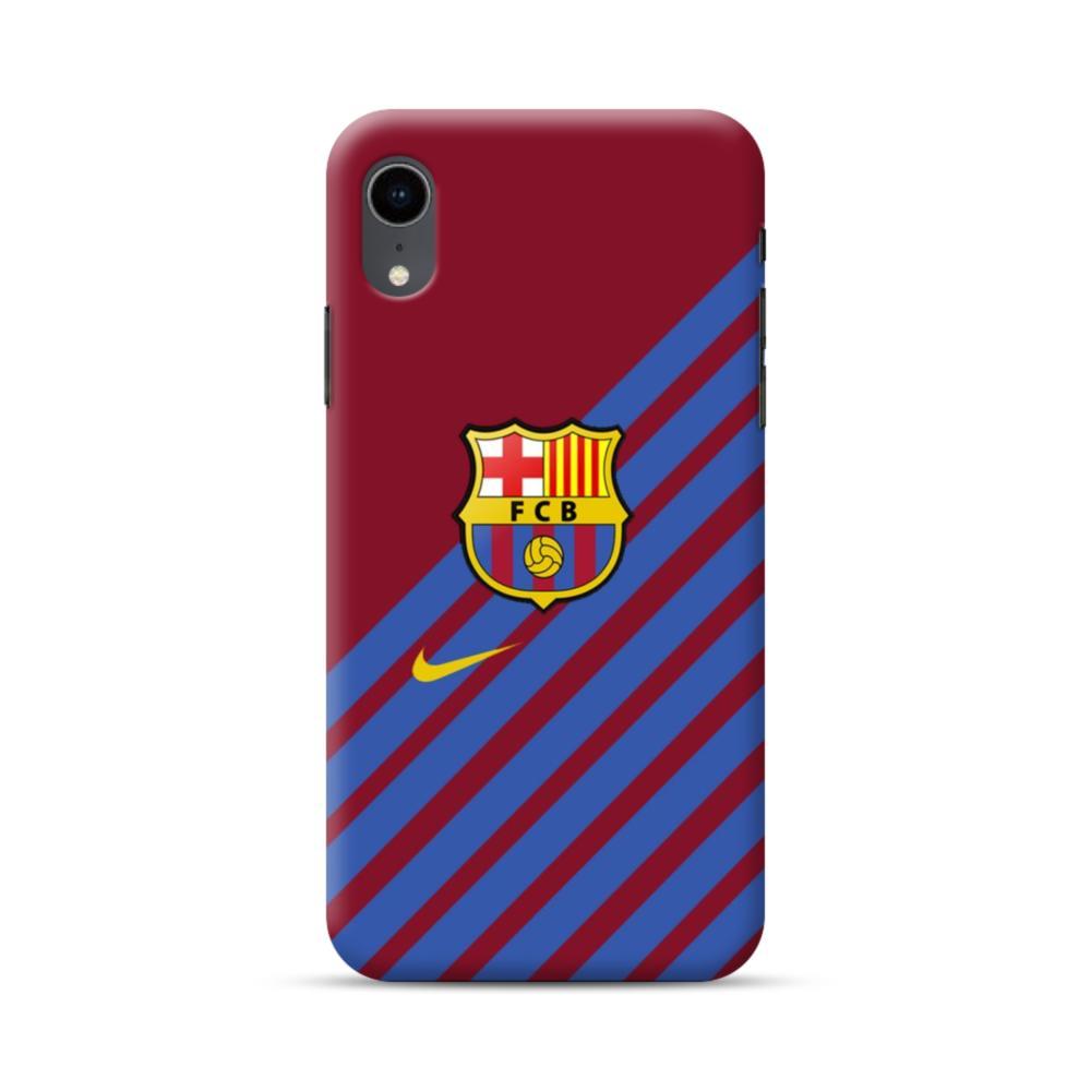 Fc Barcelona Diagonal Stripes Iphone Xr Case Caseformula