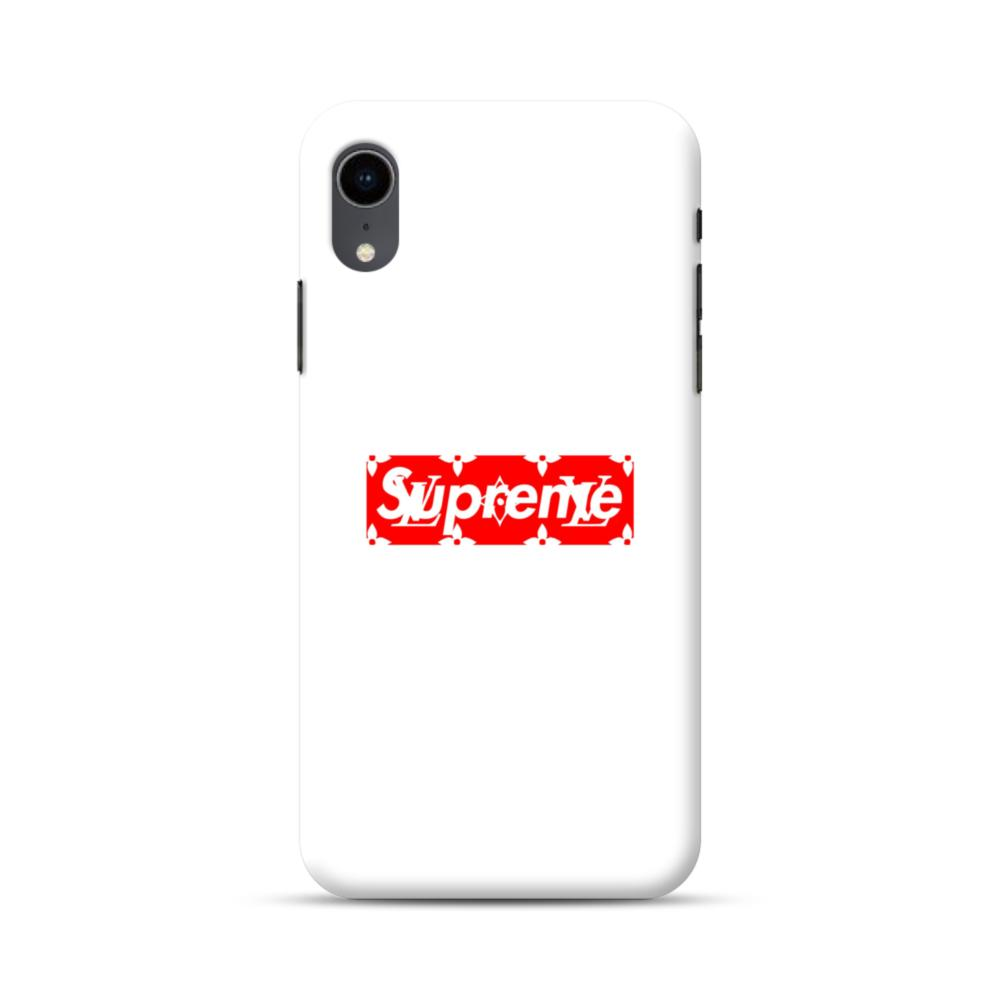 Supreme White Cover IPhone XR Case | CaseFormula