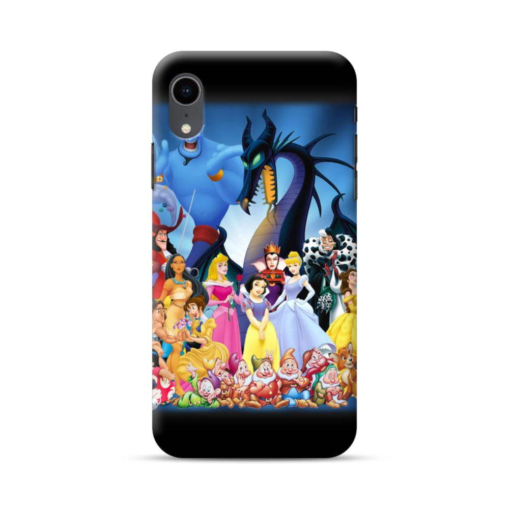 disney and cartoon character iphone xr cases
