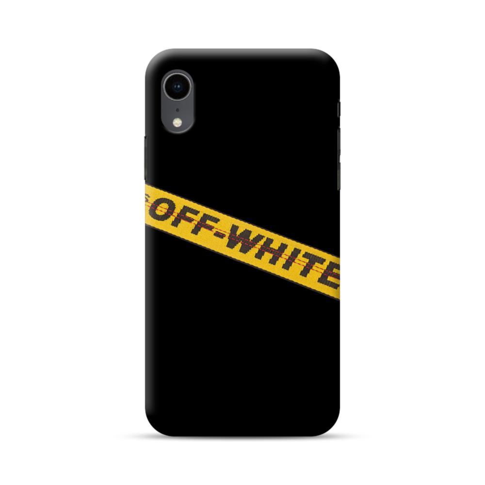 quality design d31a8 d16b5 Off White Lining iPhone XR Case