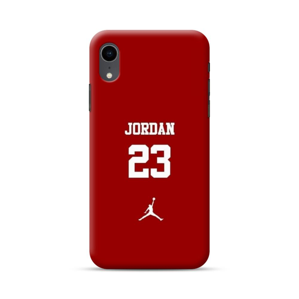 the best attitude da998 f4195 Jordan 23 iPhone XR Case