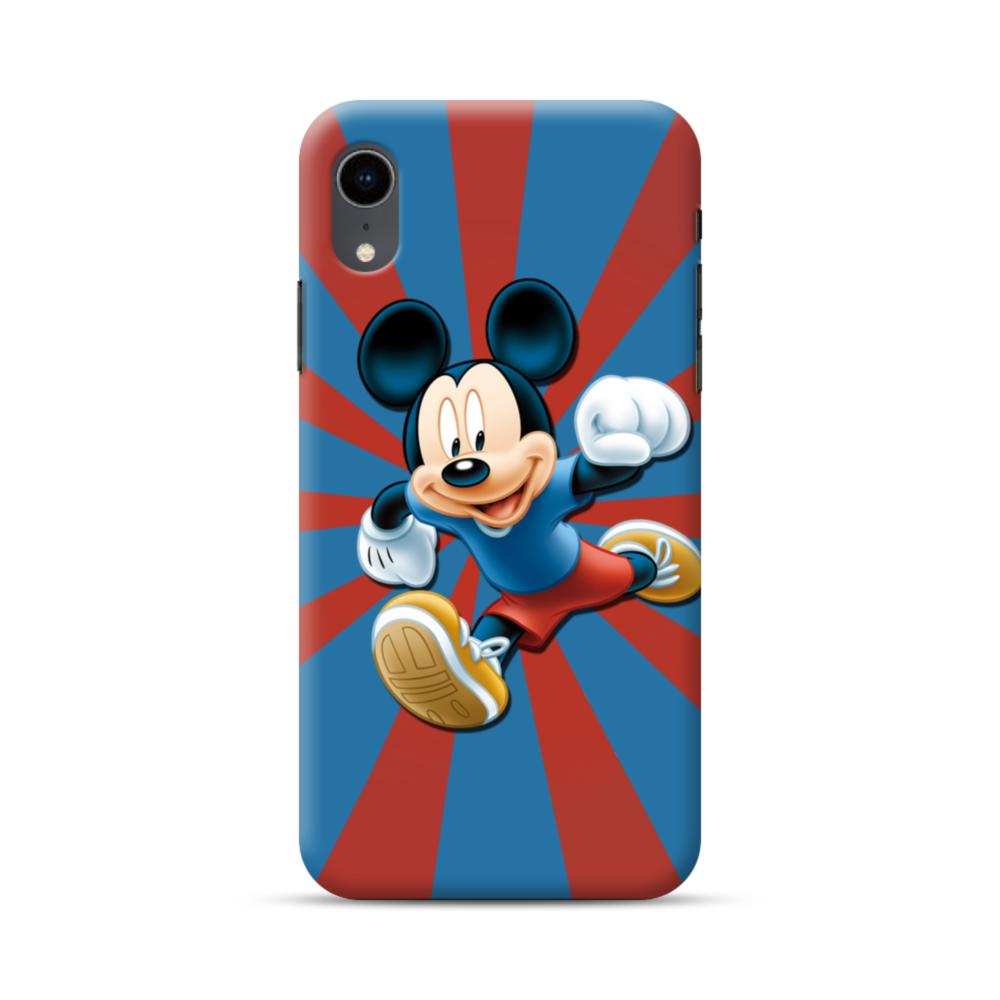 best service 4d85d 1b12e Happy Mickey Mouse iPhone XR Case