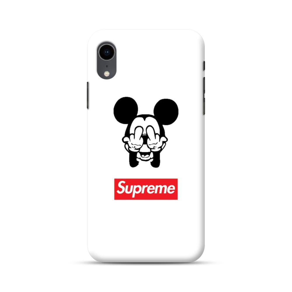 Disney Mickey Mouse X Supreme Iphone Xr Case Caseformula