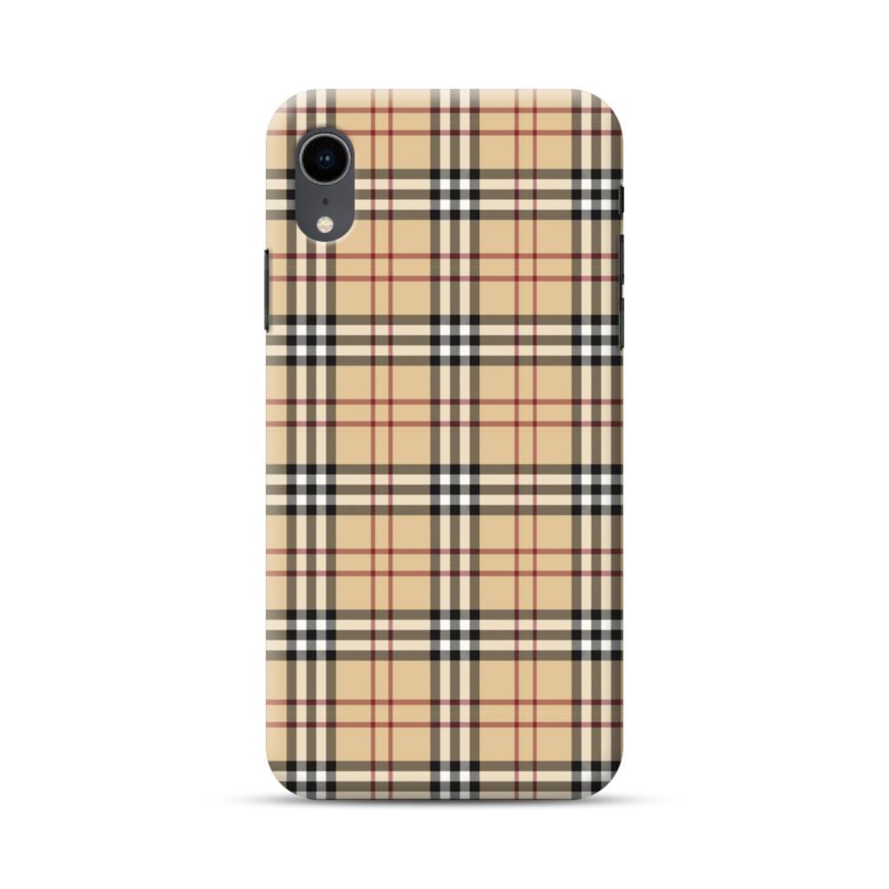 lowest price fd0e4 25e69 Tartan Check iPhone XR Case
