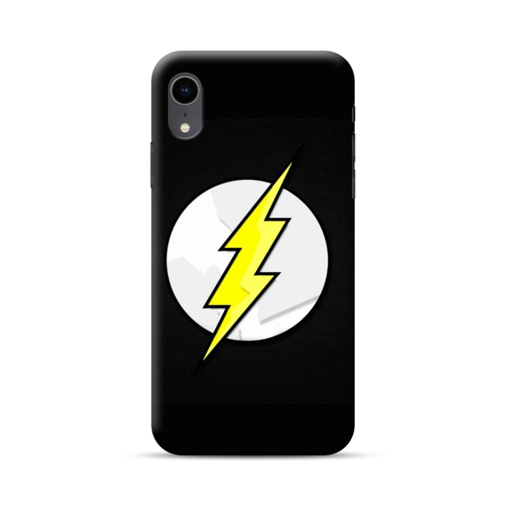 finest selection 41e7c 864f6 Flash Logo iPhone XR Case