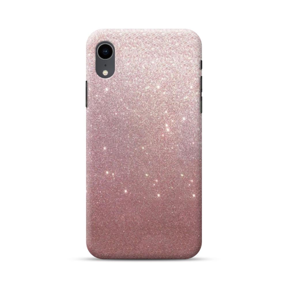 rose gold glitter iphone xr case