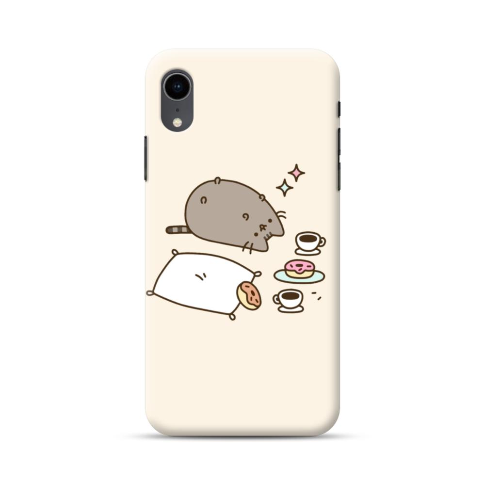 pusheen iphone xr case