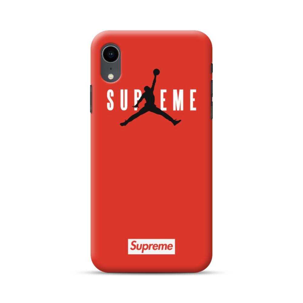 Supreme X Jordan IPhone XR Case | CaseFormula