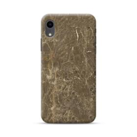 Dark Coffee Emperador Marble iPhone XR Case