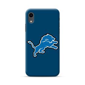 Lion Shape Blue iPhone XR Case