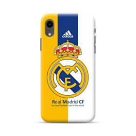 Real Madrid Team Logo Colors iPhone XR Case