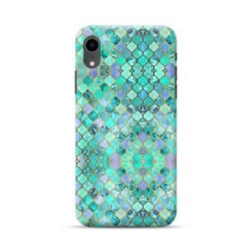 Cobalt Blue Moroccan Tiles  iPhone XR Case