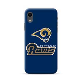Los Angeles Rams Team Logo Mascot Name iPhone XR Case