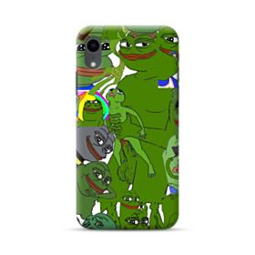 Rare pepe the frog seamless iPhone XR Case