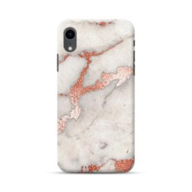 Rosegold Marble iPhone XR Case