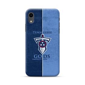 Tennessee Titans Team Logo Sketch iPhone XR Case