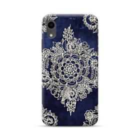 Cream Floral Moroccan Pattern  iPhone XR Case