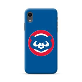 Cubs Mascot Red Circle iPhone XR Case