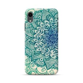Emerald Mandala Pattern iPhone XR Case