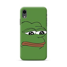 Sad Pepe frog iPhone XR Case