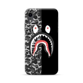 Bape Shark Camo & Black iPhone XR Case