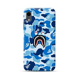 Bape Shark Blue Camo iPhone XR Case