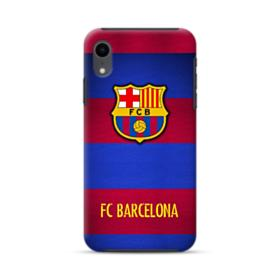 FC Barcelona Banners iPhone XR Hybrid Case