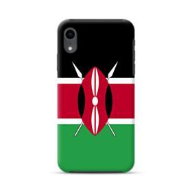 Flag of Kenya iPhone XR Hybrid Case