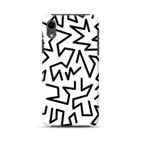 90s Pattern iPhone XR Hybrid Case