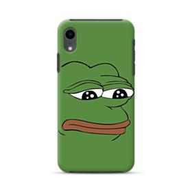 Sad Pepe frog iPhone XR Hybrid Case