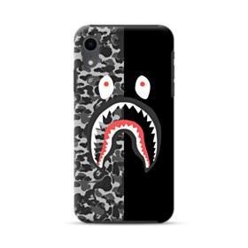 Bape Shark Camo & Black iPhone XR Hybrid Case