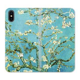 Almond Blossoms Vincent van Gogh iPhone XS Wallet Leather Case
