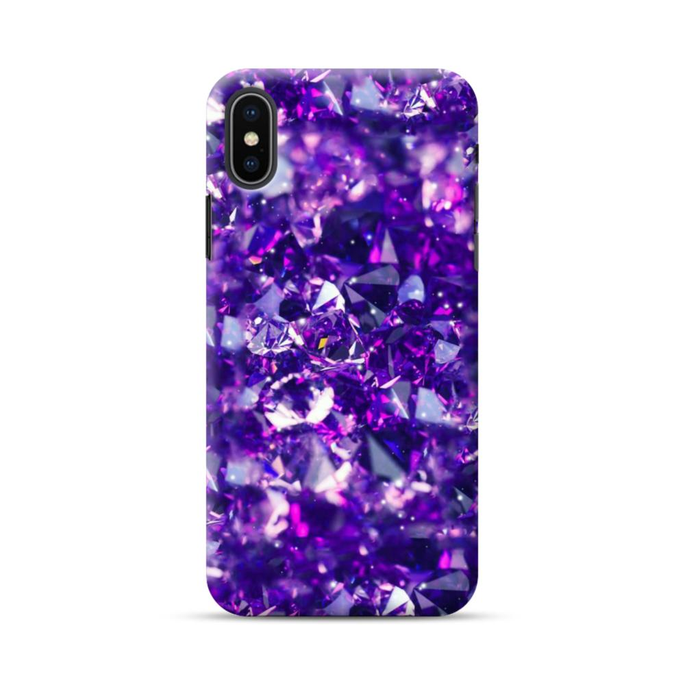 diamond iphone xs case