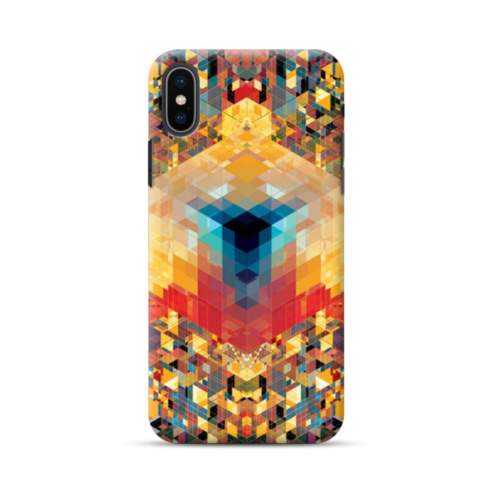 38a529435fbb6 Geometric Art iPhone XS Case
