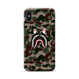 Bape shark camo print iPhone XS Case