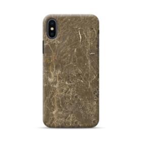 Dark Coffee Emperador Marble iPhone XS Case